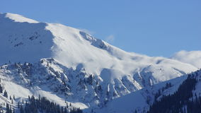 Beautiful mountains and peaks of Alps in Tirol Stock Photography