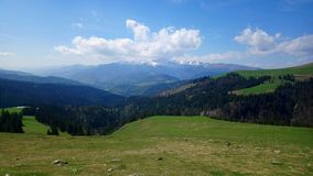 Mountains. Beautiful mountains from Romania Royalty Free Stock Image