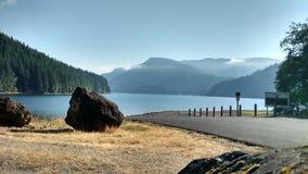 Beautiful mountains. Saddle Dam in Washington state Stock Photo