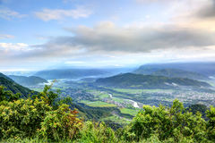 Beautiful mountains from Sarangkot mount Royalty Free Stock Photos