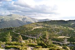 Beautiful mountains. Sierra de Guadarrama national park in Spain Royalty Free Stock Photos