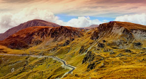 Beautiful mountains from Transalpina Royalty Free Stock Photography