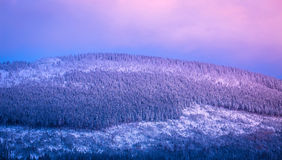 Beautiful mountains view Royalty Free Stock Images