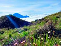beautiful mountains stock photography