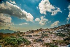 Beautiful mountains on the western part of Mallorca island, Spai stock photos
