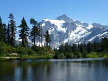 Beautiful Mt Baker Royalty Free Stock Photos