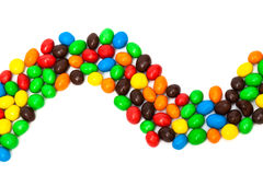Beautiful multi-colored candy Royalty Free Stock Photography