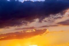 multi-colored sky stock photo