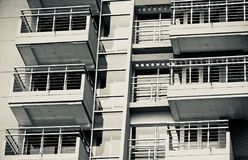 Stylish modern architectural building background photograph royalty free stock image