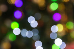 The beautiful Multicolor bokeh background Stock Image