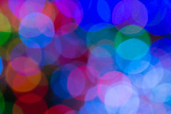The beautiful Multicolor bokeh background Royalty Free Stock Photo