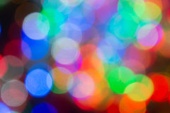 The beautiful Multicolor bokeh background Royalty Free Stock Photos
