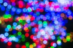 The beautiful Multicolor bokeh background Stock Photos