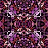 Beautiful multicolor kaleidoscope pattern texture, seamless pattern with many color.  royalty free stock photography