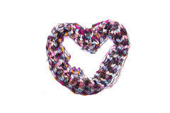 Beautiful multicolor scarf Royalty Free Stock Image
