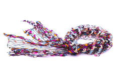 Beautiful multicolor scarf Stock Photography