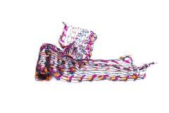 Beautiful multicolor scarf Stock Photos