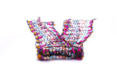 Beautiful multicolor scarf Royalty Free Stock Photo