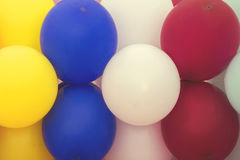 Beautiful multicolored balloons background 5 Royalty Free Stock Photography