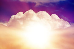 Beautiful Multicolored Sky Royalty Free Stock Image