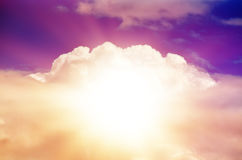 Beautiful Multicolored Sky Royalty Free Stock Photography