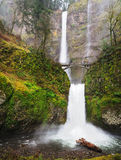 The beautiful multinomah falls Stock Photography
