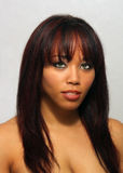 Beautiful Multiracial Girl, Headshot (2) Stock Photos