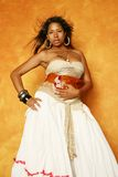 Beautiful multiracial woman Stock Photo