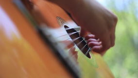 Beautiful Music in Details stock video footage