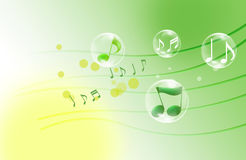 Beautiful musical notes Royalty Free Stock Image