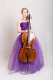 Beautiful musician Royalty Free Stock Image