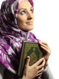 Beautiful Muslim fashion girl Stock Images