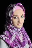 Beautiful Muslim fashion girl Royalty Free Stock Images