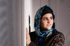 Beautiful Muslim girl Stock Photos