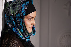 Beautiful Muslim girl Royalty Free Stock Image