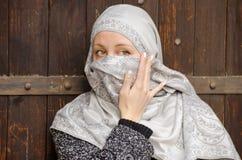 Beautiful muslim girl wearing hijab Royalty Free Stock Images