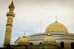 A beautiful Muslim mosque in US Royalty Free Stock Photos