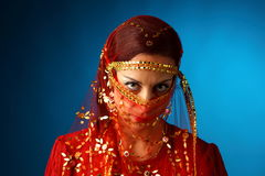 Beautiful muslim woman Stock Photography