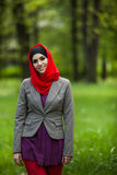 Beautiful muslim woman wearing hijab Royalty Free Stock Photography