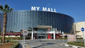The beautiful My Mall building Limassol in Cyprus stock image