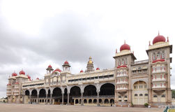 Beautiful Mysore palace, a view from NE side Stock Image