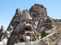 Beautiful and mysterious Cappadocia Royalty Free Stock Photos