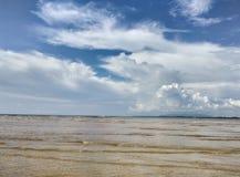 beautiful Nai Yang Beach in Phuket Island Royalty Free Stock Images