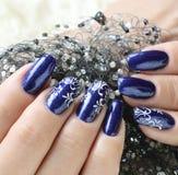 Beautiful nail art Stock Image