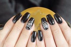 Beautiful nail art Royalty Free Stock Photo