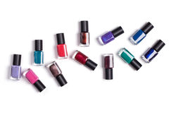 Beautiful nail polish. stock images