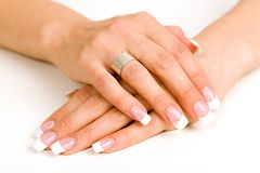 Beautiful nails Royalty Free Stock Photography