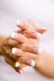 Beautiful nails Royalty Free Stock Images