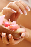 Beautiful nails Stock Images
