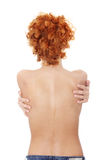 Beautiful naked woman back Royalty Free Stock Photo